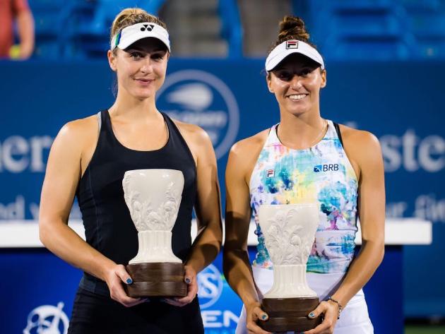 Após vice em Cincinnati, Luisa Stefani entrará no top 15 do ranking de duplas da WTA