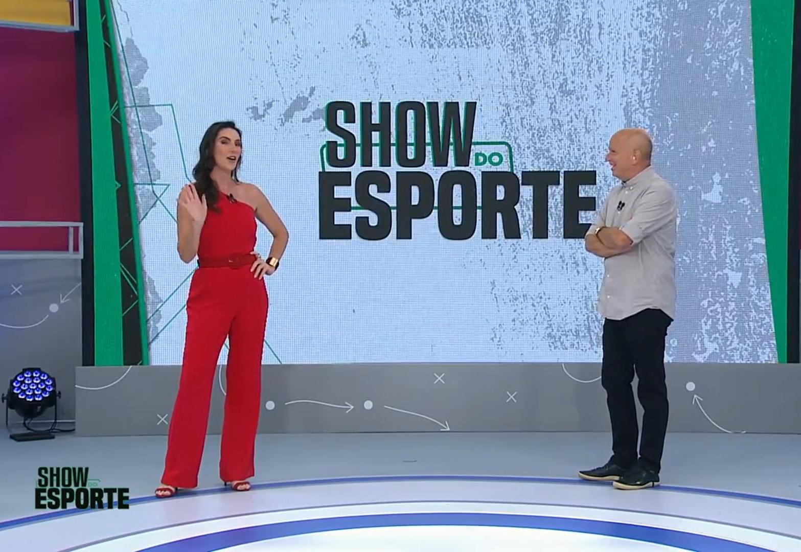 Show do Esporte estreia novo cenário e comemora marca no YouTube