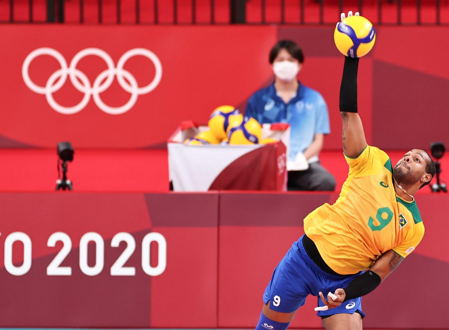 Brasil encara o Japão nas quartas do vôlei masculino em Tóquio; veja todos os duelos