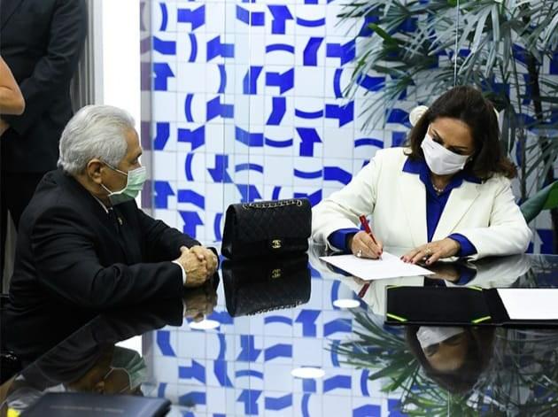 Eliane Nogueira assume vaga no senado no lugar do filho