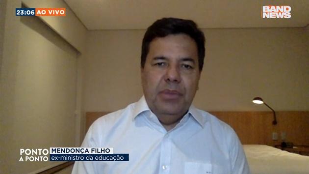 """Mendonça Filho foi o entrevistado no """"Ponto a Ponto"""" desta quarta"""