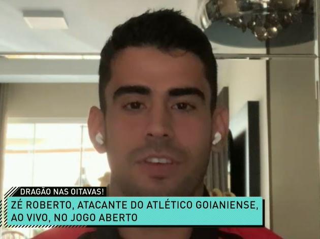 """Zé Roberto: """"Primeiro objetivo do Atlético-GO é não cair"""""""
