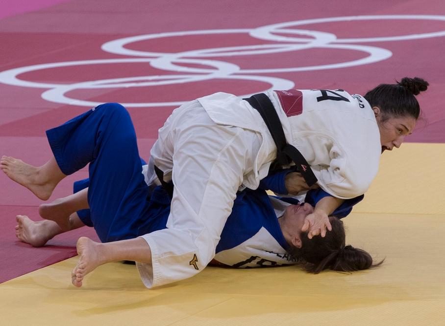 Mayra Aguiar superou cirurgia no fim de 2020 para faturar o bronze, lembra técnico