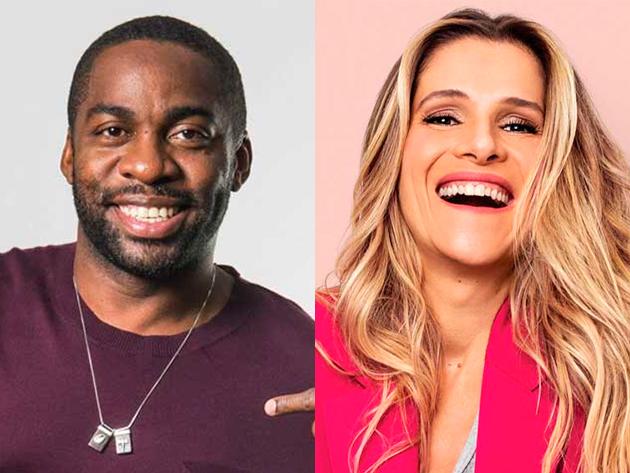 Lázaro Ramos e Ingrid Guimarães deixam a Rede Globo