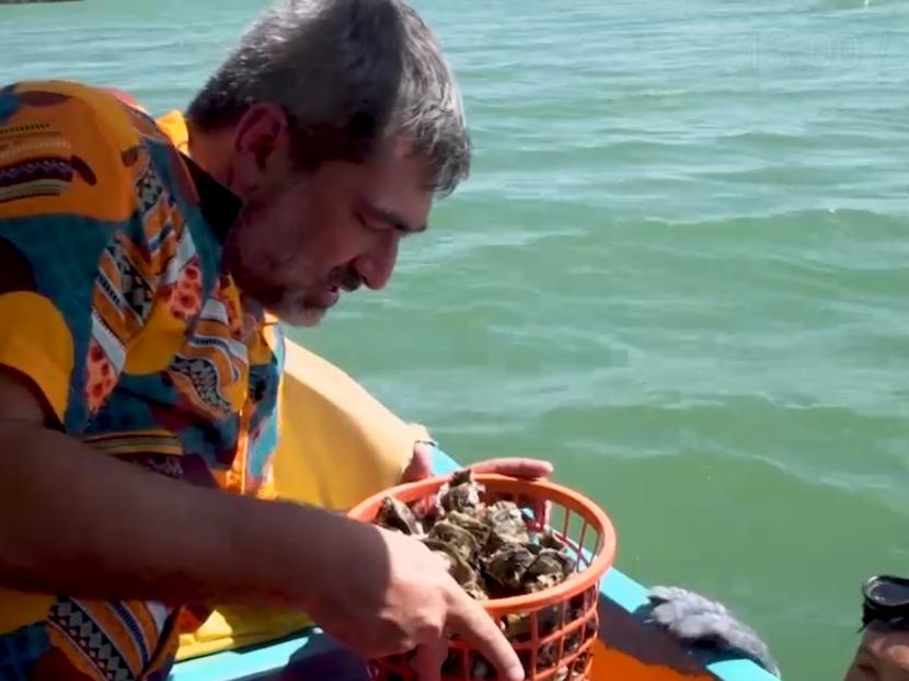 Galinhos tem turismo no mangue com direito a ostra fresca e sashimi de peixe