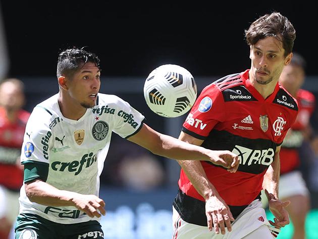 Palmeiras é razão, Flamengo emoção