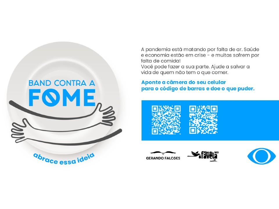 Campanha contra a fome lançada pelo Grupo Bandeirantes ultrapassa marca de R$ 2 milhões em doações