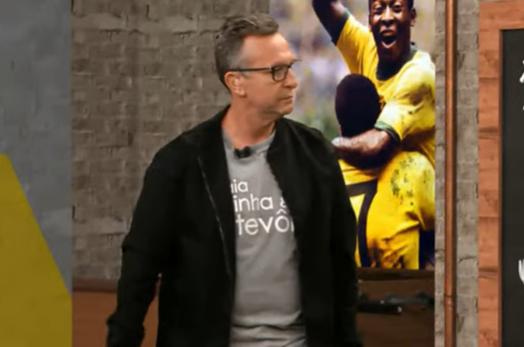 """Neto detona Tite por convocar Paquetá e Fred: """"Só faltou Lucas Lima e Luan"""""""