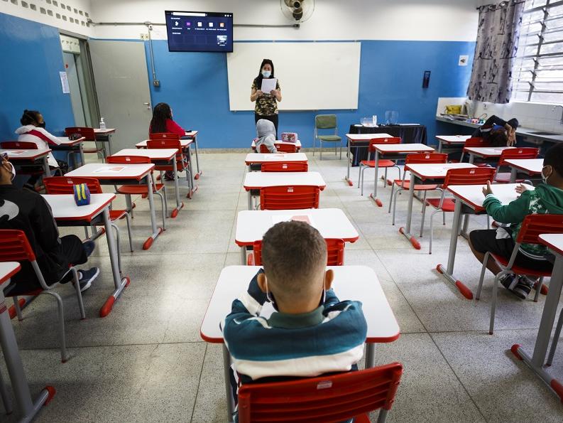São Paulo avalia mudar taxa de ocupação em escolas