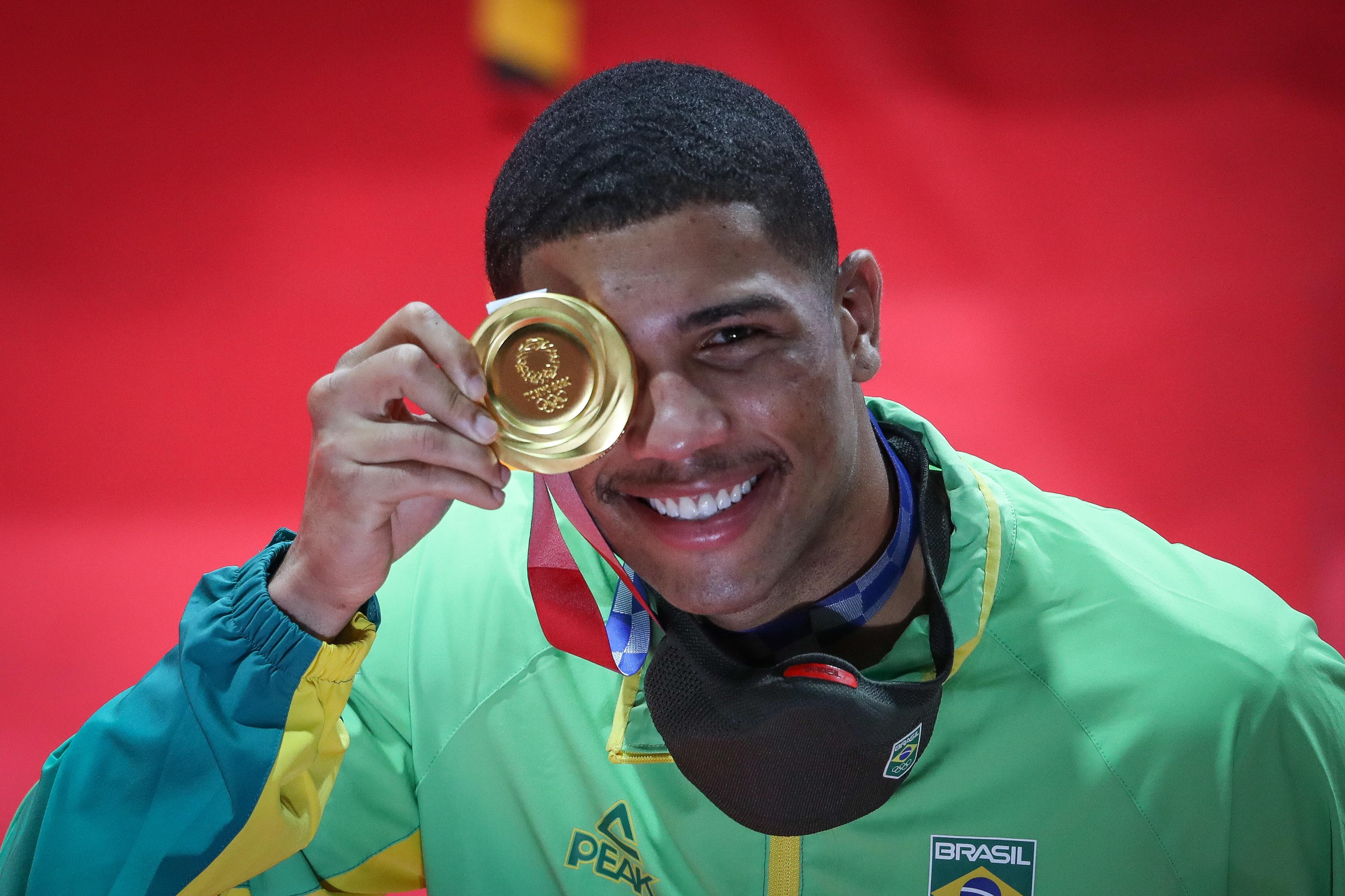 Hebert Conceição já foca em nova medalha em 2024 e revela possível cirurgia na mão