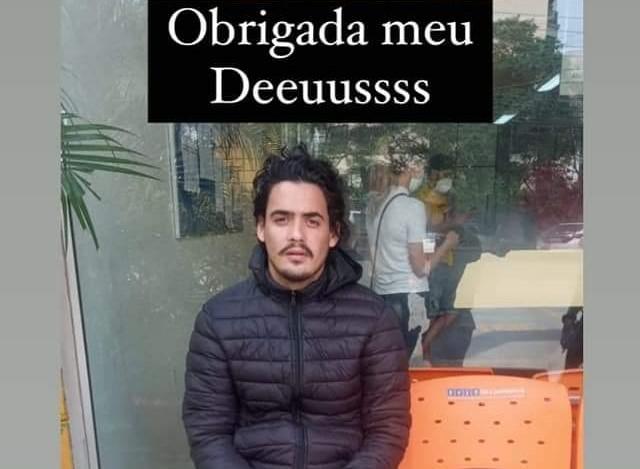 Tauan Cardoso Vital estava desaparecido desde 10 de setembro e foi encontrado no Rio de Janeiro