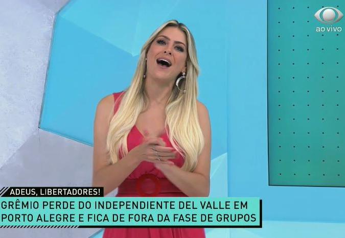 Renata Fan se diverte com eliminação do Grêmio e dá dica para Renato Gaúcho
