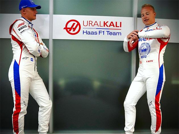 F1: Tensão entre Mazepin e Schumacher aumenta antes do Grande Prêmio da Itália