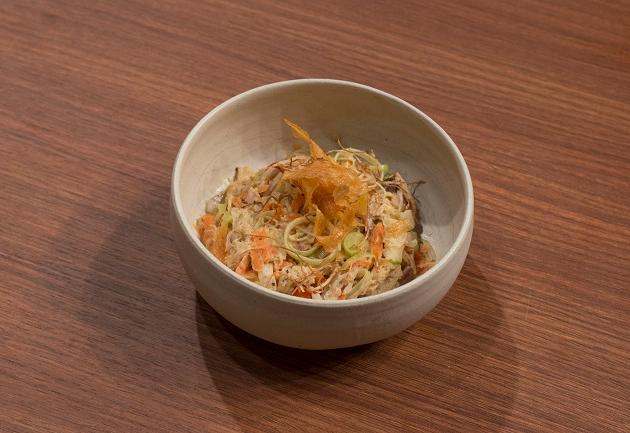 Salada de frango com alho-poró | Band Receitas