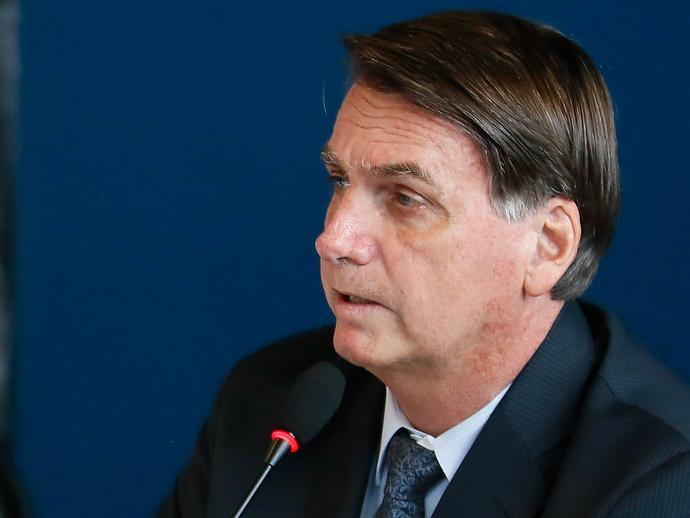 Bolsonaro aciona STF contra envio de dados telemáticos à PGR