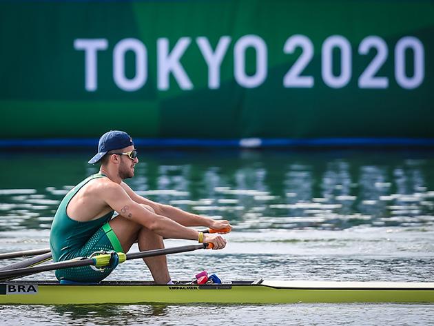 Tóquio-2020: Lucas Verthein é eliminado em semifinal do remo skiff simples