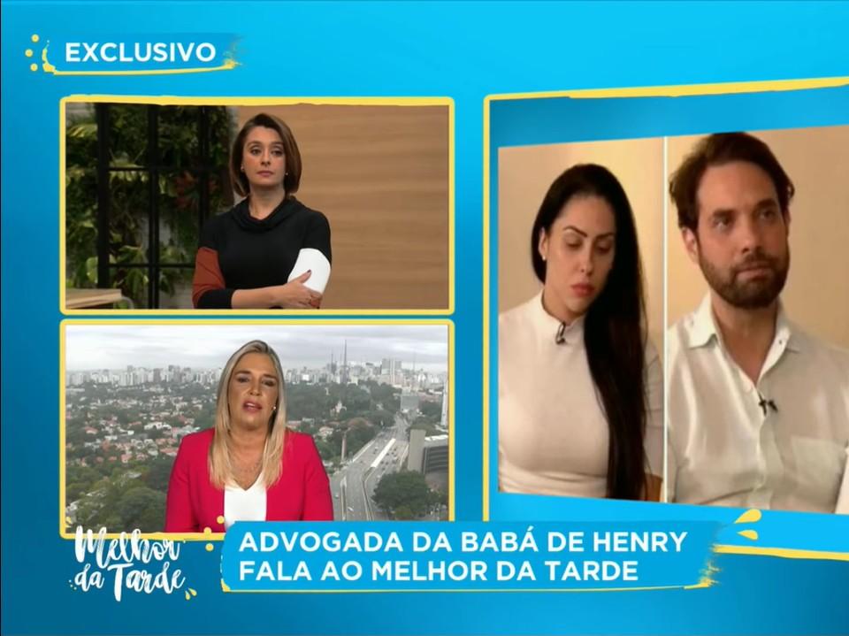 Advogada diz que babá de Henry Borel foi coagida por Monique Medeiros