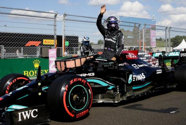 Hamilton larga na pole no GP da Hungria neste domingo