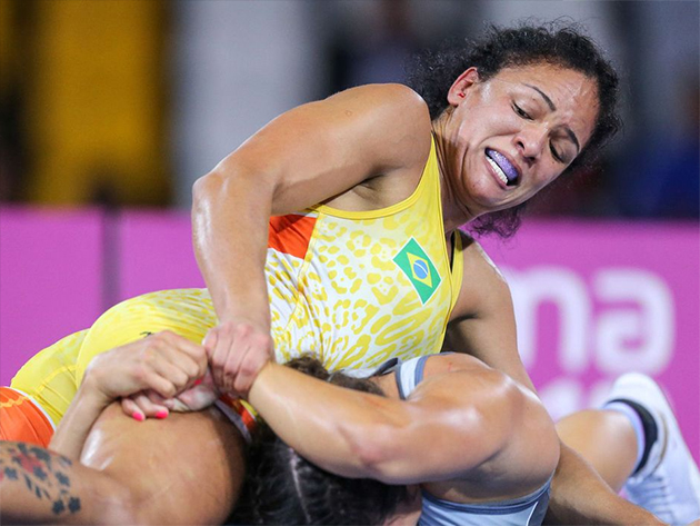 Wrestling: Aline Silva e Laís Nunes vão lutar na Europa visando Tóquio