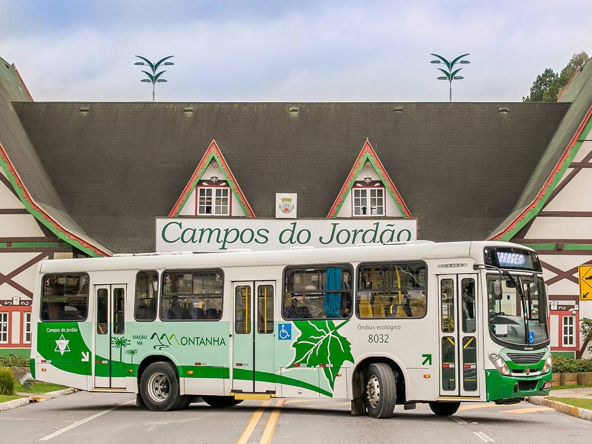 Ônibus devem voltar a circular após o meio dia em Campos do Jordão