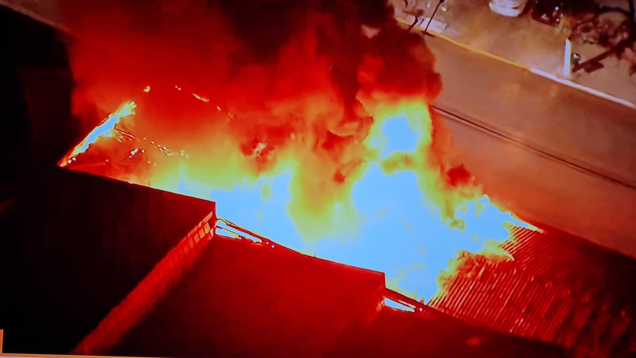 Incêndio atinge a unidade da Cinemateca na Vila Leopoldina, na Zona Oeste de SP