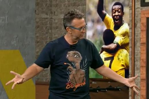 """Neto vê chocolate do Flamengo, e Velloso detona Abel: """"Só faz bobagem quando mexe"""""""