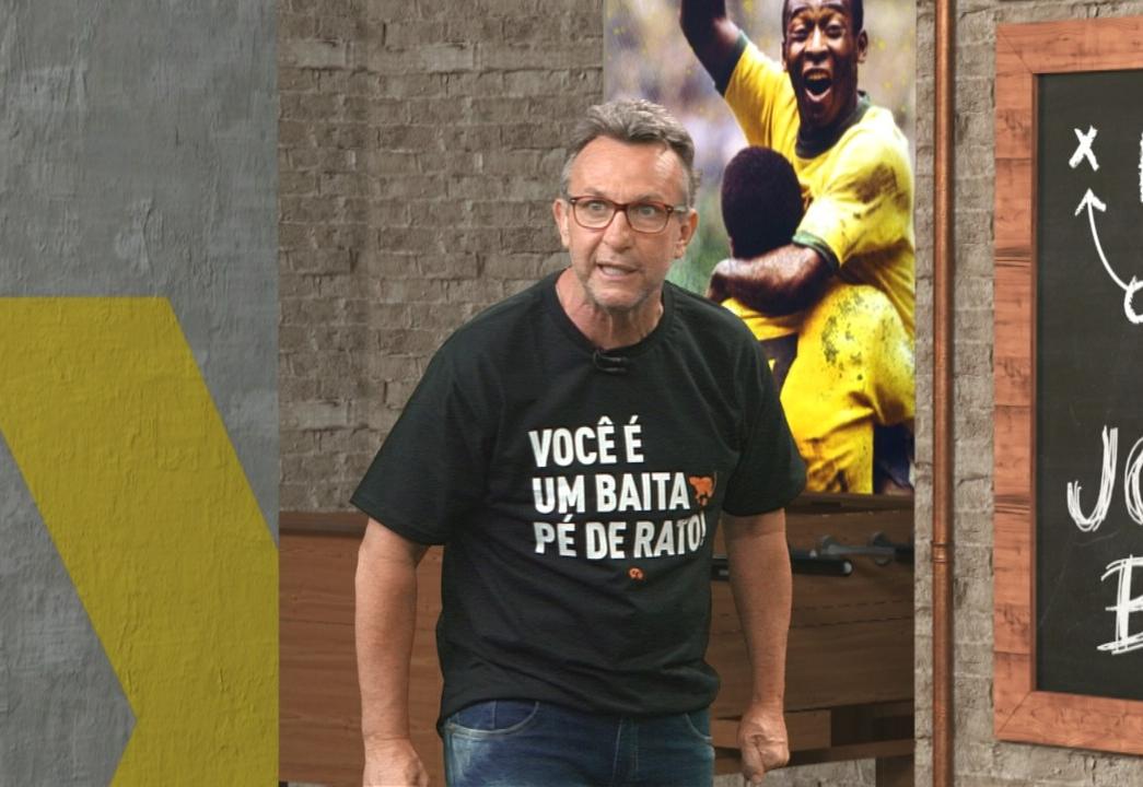 """Neto: """"Se colocar Daniel Alves na reserva, São Paulo é campeão"""""""