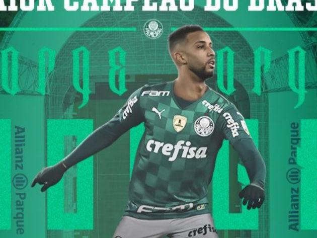Palmeiras anuncia contratação do lateral Jorge, ex-Santos e Flamengo