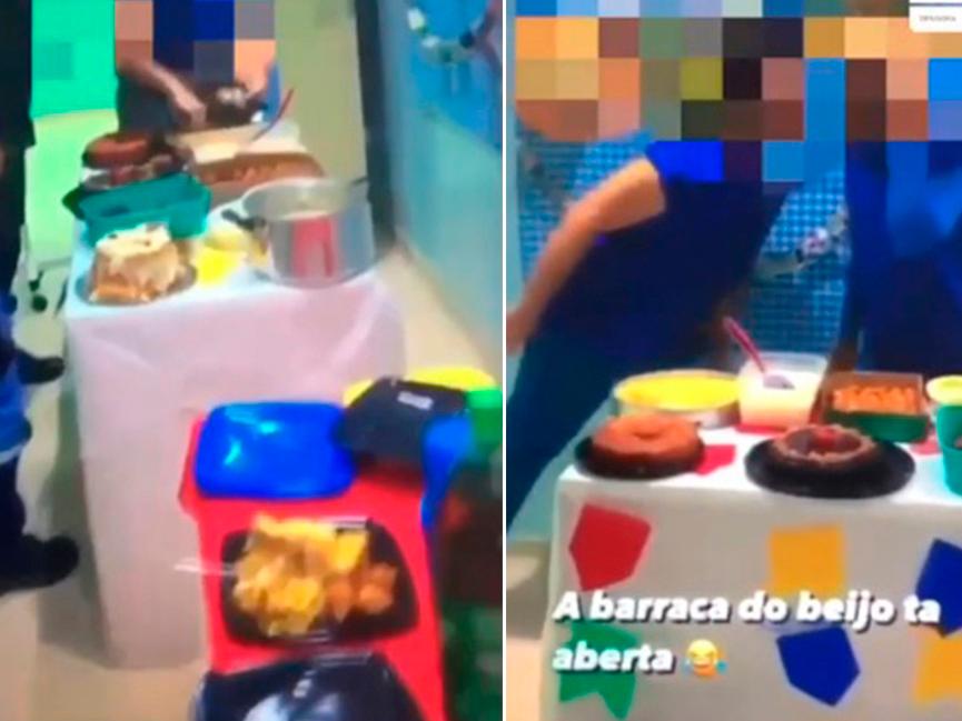 Festa junina acontece em UTI de hospital de Manaus; veja imagens