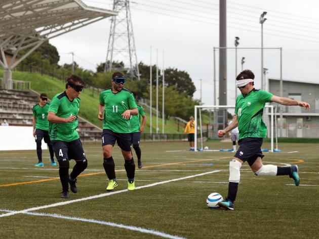 Brasil busca quinto ouro consecutivo no futebol de 5 nos Jogos Paralímpicos