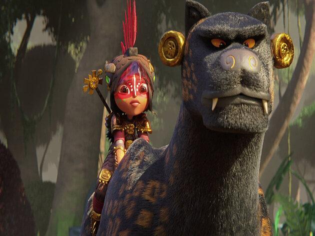 Maya e os 3 Guerreiros: Nova minissérie da Netflix ganha data de estreia