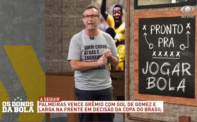 """Neto critica Abel Ferreira por substituições: """"Era para ter ganhado o título"""""""