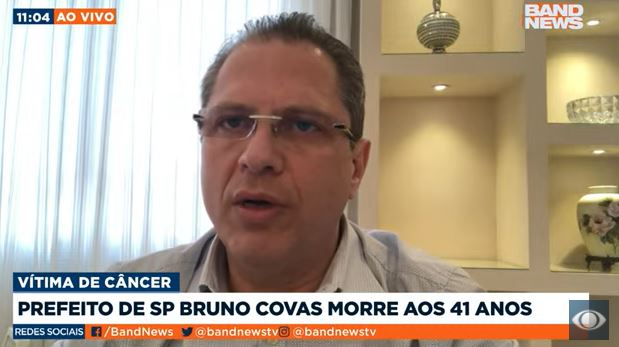 """Gorinchteyn: """" Bruno Covas sabia de sua finitude, mas lutava por cada dia a mais"""""""