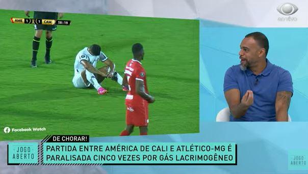 """""""Vergonha"""": Jogo Aberto lamenta partida do Galo em meio a bombas na Colômbia"""