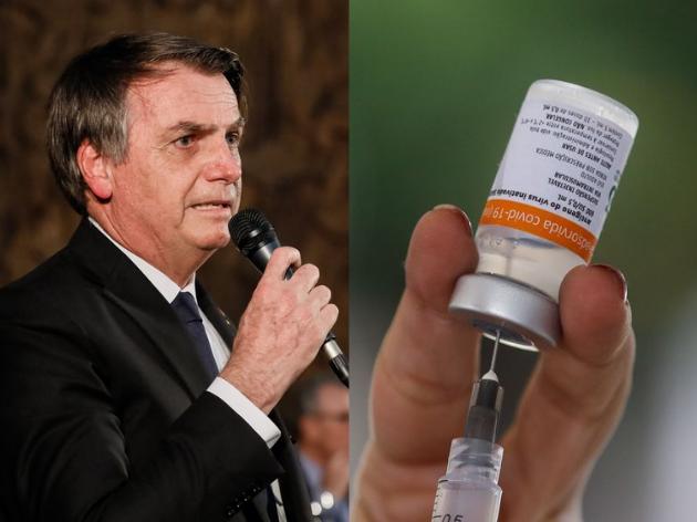 Bolsonaro afirma que chegou uma documentação oferecendo a CoronaVac por US$ 5 pela Sinovac