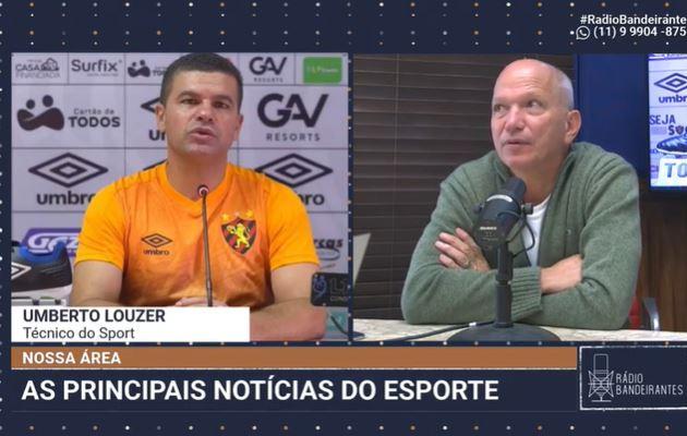 Louzer fala sobre trabalho no Sport no início do Brasileirão