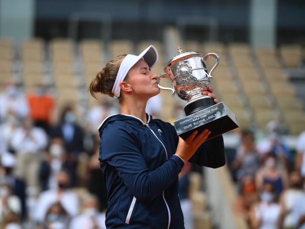 Krejcikova é apenas a quinta campeã de Roland Garros fora do top 10 da WTA