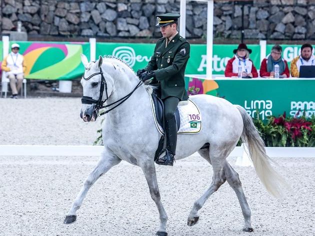 João Victor Oliva é convocado no adestramento para os Jogos Olímpicos de Tóquio