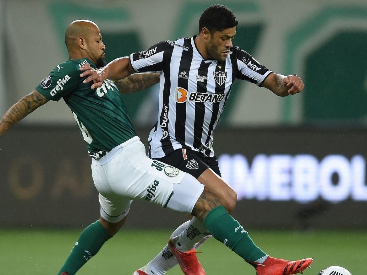 Hulk desperdiça pênalti, e Palmeiras e Atlético-MG ficam no 0x0