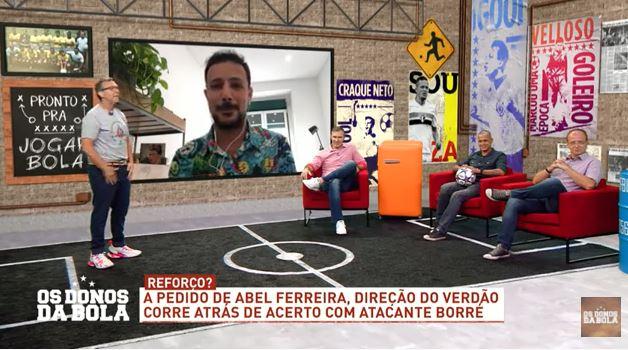 """""""Paixão"""" de Abel Ferreira e salário maior podem levar Borré ao Palmeiras"""
