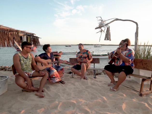 Samara Alves e Sergio Groove cantam ao pôr do sol no 'Zeca Pelo Brasil'