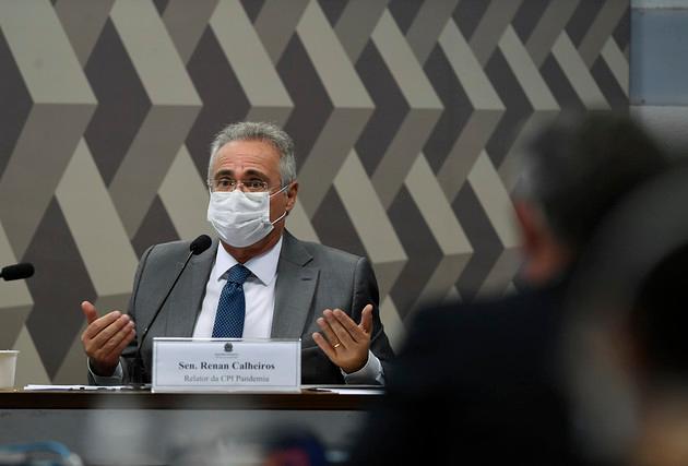 Lewandowski mantém Renan Calheiros como relator da CPI da Covid