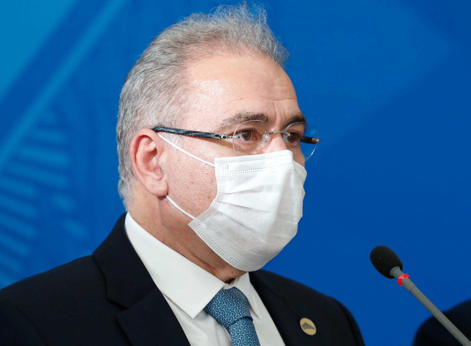 Ministro da Saúde disse que não é censor da fala do presidente da República