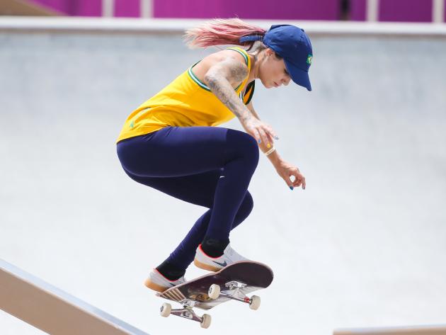 """""""Coloquei muita pressão em mim mesma"""", diz Leticia Bufoni após eliminação na Olimpíada"""