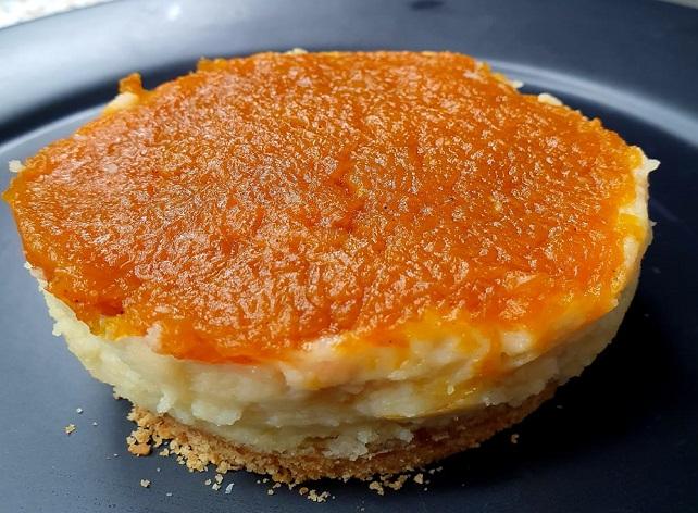 Cheesecake de requeijão de corte e doce de abóbora | Band Receitas