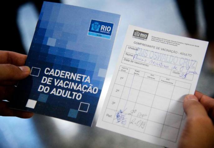 Rio registra casos de tentativa de roubo do comprovante de vacinação