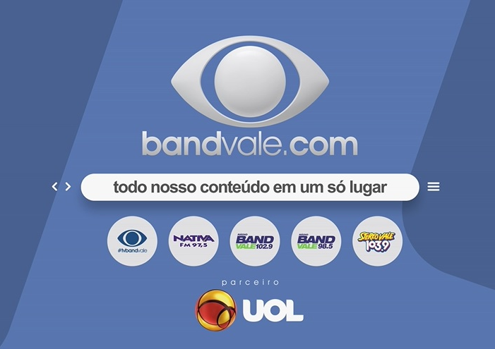 TV Band Vale: fale conosco e siga-nos nas redes sociais