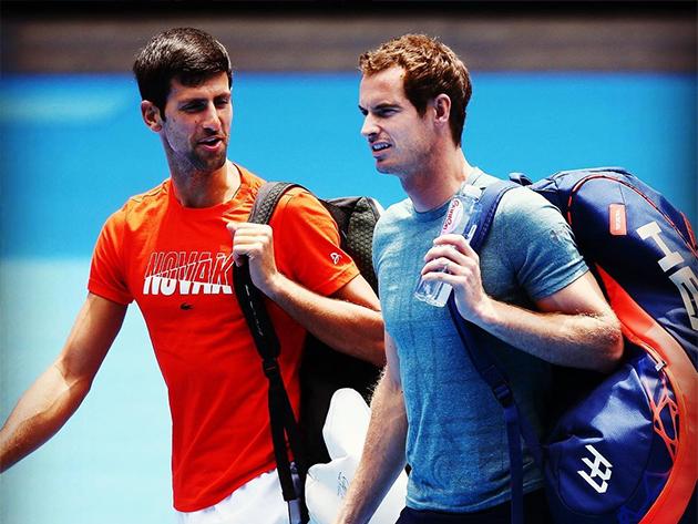 Ninguém ainda ameaça o Big 3, diz Andy Murray
