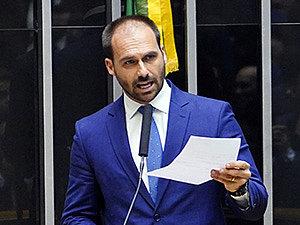 Eduardo Bolsonaro testa positivo para Covid-19