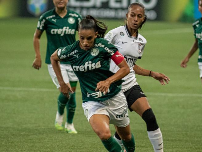 Palmeiras confia em experiência do elenco para reverter resultado na final do Brasileirão feminino